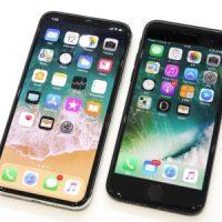 iPhoneの有機ELディスプレイと液晶ディスプレイ