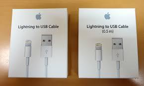 Apple 純正 lightning(ライトニング)ケーブル