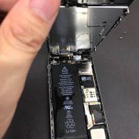 iPhone5S-水没復旧・バッテリー交換_2_1_20180314