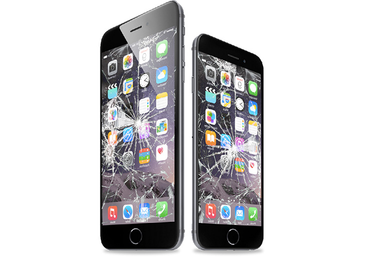 iPhone7 ガラス割れ修理