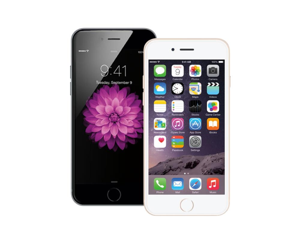 iPhone6sPlus アイコンのちらつき、滲み修理