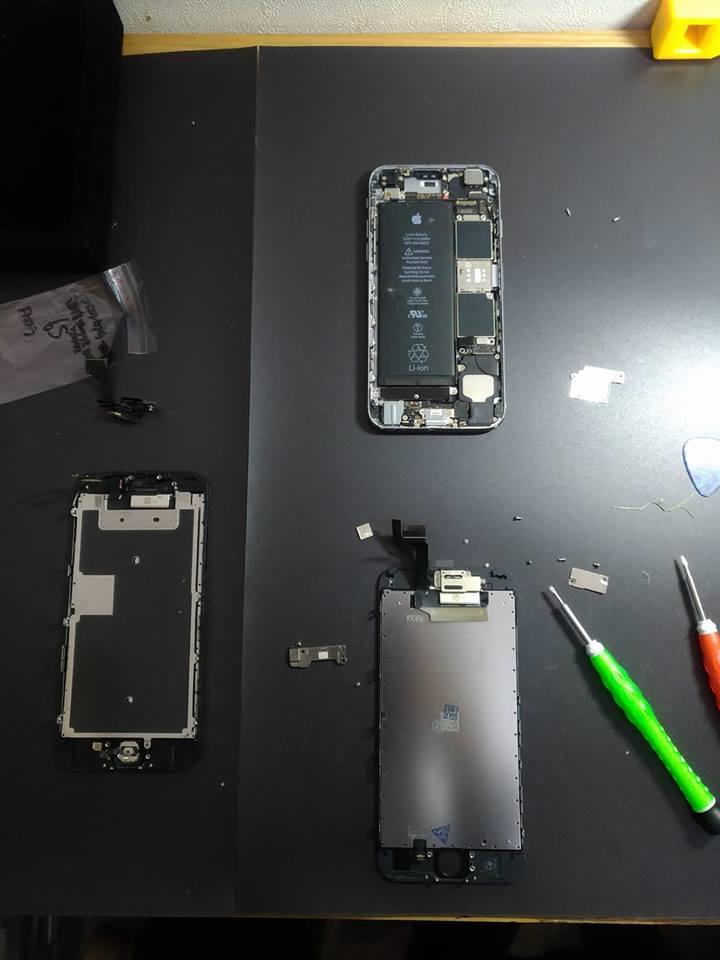 iPhone6s 水没復旧修理