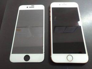 iPhone7-ガラスフィルム損傷_1_20171216